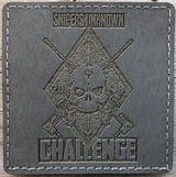 "HANK (HD Etched) 3""x3"" SNIPERS UNKNOWN CHALLENGE 2018 Patch - Miltex Tactical"