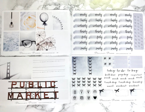 Urban Repose Planner Sticker Weekly Kit - Fits Erin Condren, KikkiK, Filofax Planners and Midori Notebooks - Planner Press