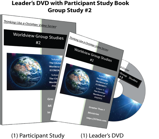 TLAC Worldview Group Study #2- Leader's DVD with Participant Study Guide