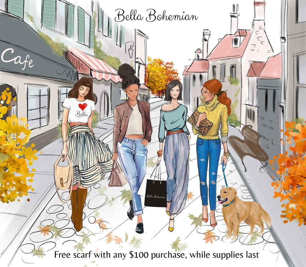 Bella Bohemian - Autumn 2018 flyer