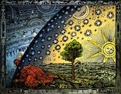 Flammarion depicting existence beyond the veil - bohemian worldview