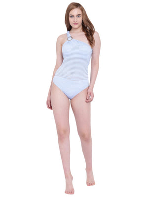 La Intimo Blue Serenity Female SummerSass Monokini Resort/Beach Wear Polyester Spandex Swimwear