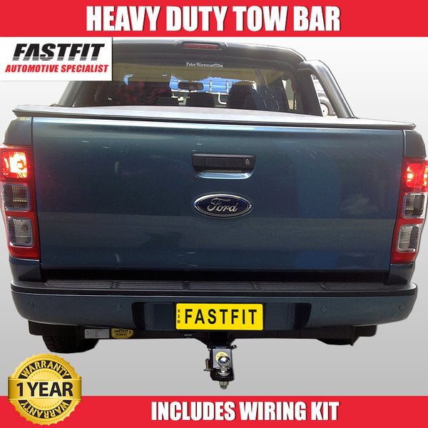 FastFit Heavy Duty Tow Bar To Suit Ford Ranger Ute - 10/2011 ON
