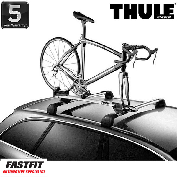 Thule Sprint T-Track 569 Premium Fork Roof Mounted Bike Carrier