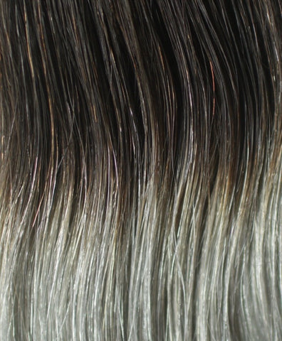 120g Ombre Grey Hair Extension