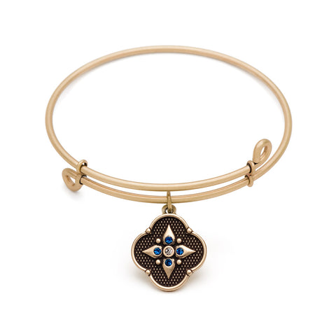 SOL Balance of Mind, Bangle Antique Gold Color Finish