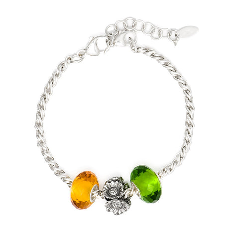 Novobeads Holiday Gift Bracelets, Sunflower