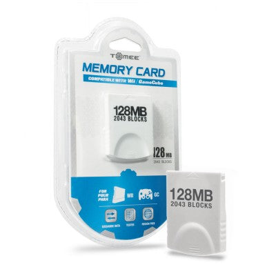 128 mb GameCube Memory Card