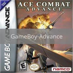 Image of Ace Combat Advance original video game for GameBoy Advance classic game system. Rocket City Arcade, Huntsville Al. We ship used video games Nationwide