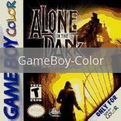 Image of Alone In The Dark The New Nightmare original video game for GameBoy Color classic game system. Rocket City Arcade, Huntsville Al. We ship used video games Nationwide