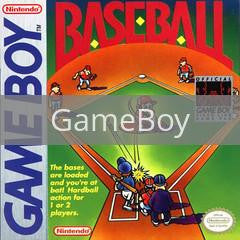 Image of Baseball original video game for GameBoy classic game system. Rocket City Arcade, Huntsville Al. We ship used video games Nationwide