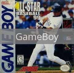 Image of All-Star Baseball 99 original video game for GameBoy classic game system. Rocket City Arcade, Huntsville Al. We ship used video games Nationwide