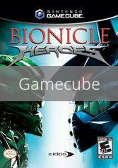 Image of Bionicle Heroes original video game for Gamecube classic game system. Rocket City Arcade, Huntsville Al. We ship used video games Nationwide