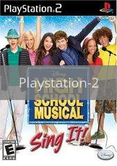Image of High School Musical Sing It original video game for Playstation 2 classic game system. Rocket City Arcade, Huntsville Al. We ship used video games Nationwide