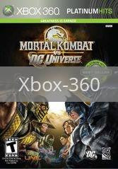 Image of Mortal Kombat vs. DC Universe original video game for Xbox 360 classic game system. Rocket City Arcade, Huntsville Al. We ship used video games Nationwide