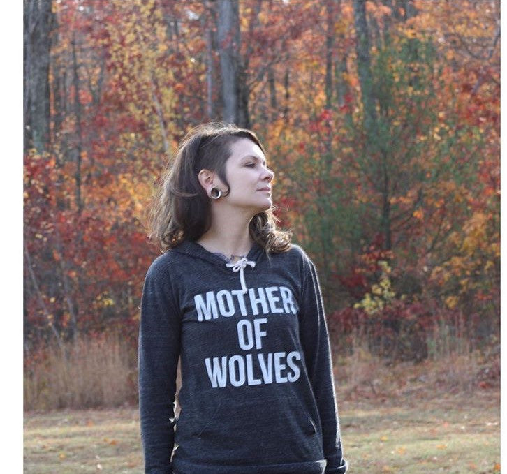 Mother Of Wolves Lightweight Hoodie