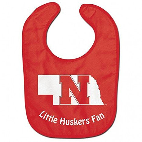 GS200026-Nebraska Cornhuskers All Pro NCAA Baby Bib