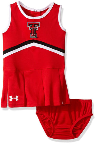GS0249-NCAA Girls Cheer Dress-TEXAS TECH