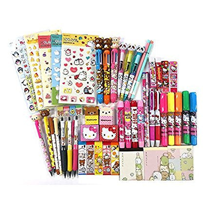 GS7000028-10 of Assorted School Supply Stationery Set Surprise Blind Gift Set GOODY BAG