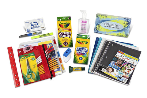 SIXTH TROUGH EIGHTH GRADE CLASSROOM SUPPLY BUNDLE PACK