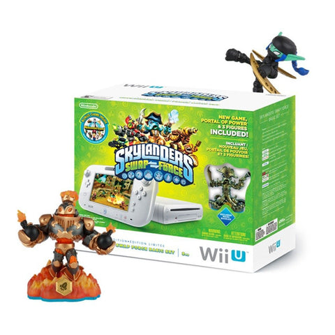 GS0417-Nintendo Skylanders SWAP Force Bundle - Nintendo Wii U