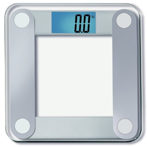 GS2063-EatSmart Precision Digital Bathroom Scale with Extra Large Lighted Display, 400 Pound