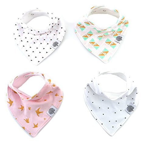 GS30010-The Good Baby Bandana Drool Bibs – 4 Pack Baby Bibs
