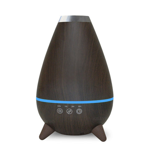 400ml Hot Sale LEDLight Ultrasonic Air Humidifier Mist Maker Fogger Electric Aroma Diffuser Essential Oil Aromatherapy Household