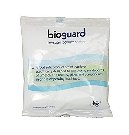 Citric Based Descaler Powder, 20 x 50g (Bioguard / Coffee Machine / Boilers)