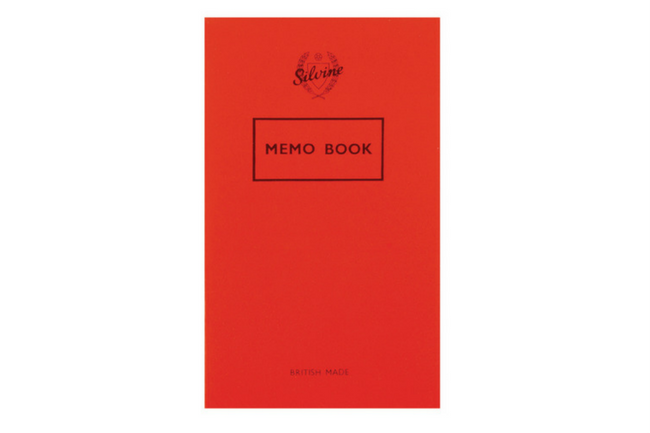 Silvine Originals Memo Journal