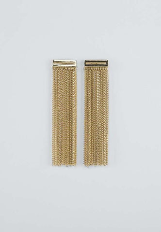Contour Earrings - gold - m-use