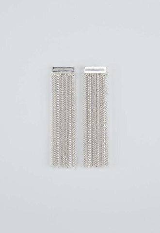 Contour Earrings - silver - m-use