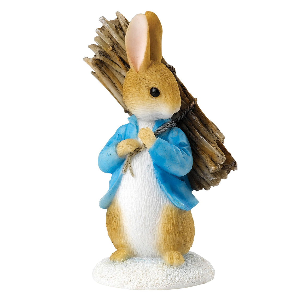 Beatrix Potter Peter Carrying Sticks Figurine