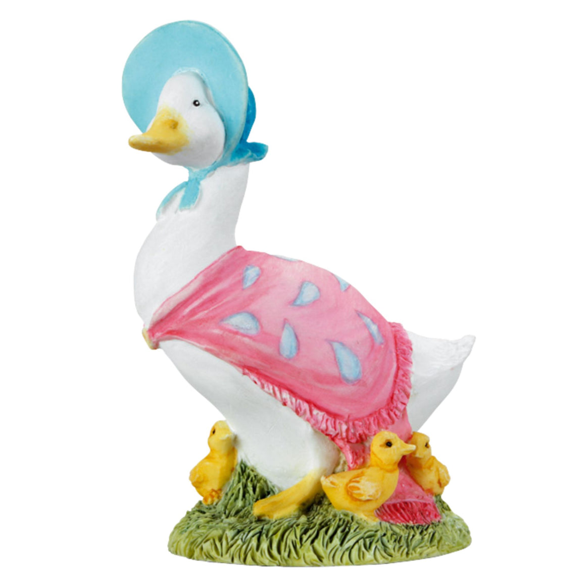 Beatrix Potter Jemima Puddle-Duck with Ducklings Figurine
