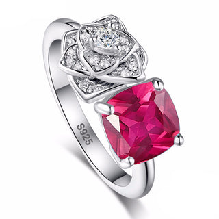 2.5ct Pigeon Ruby Ring