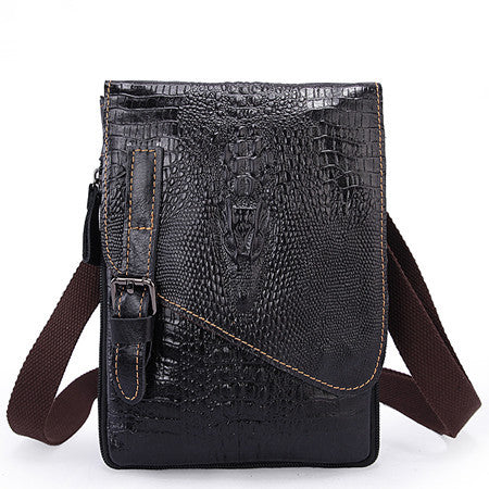 Alligator Leather Messenger Bags