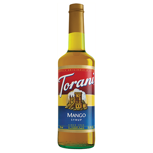 Torani Mango Syrup (750 mL) - CustomPaperCup.com Branded Restaurant Supplies