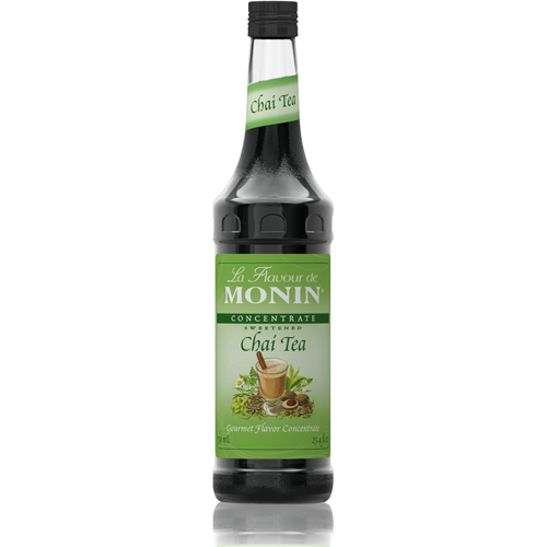 Monin Chai Tea Concentrate Syrup (750mL) - CustomPaperCup.com Branded Restaurant Supplies