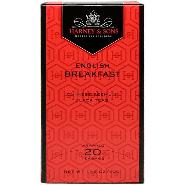 Harney & Sons Premium English Breakfast Tea - 6 Box Case - CustomPaperCup.com Branded Restaurant Supplies