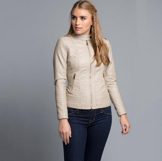 Vegan Leather Jacket - Nixon & Co Boutique