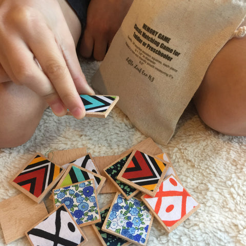 Fabric Memory Matching Game