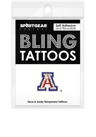 Arizona Wildcats Bling Tattoos