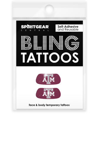 Texas A&M Aggies Bling Eye Blacks