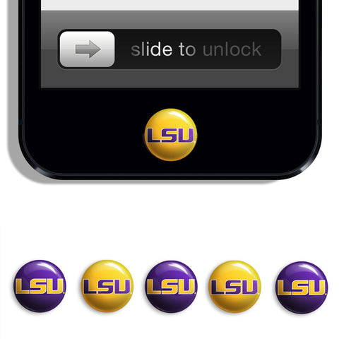 LSU Tigers Udots iPhone iPad Buttons - Spirit Gear Central