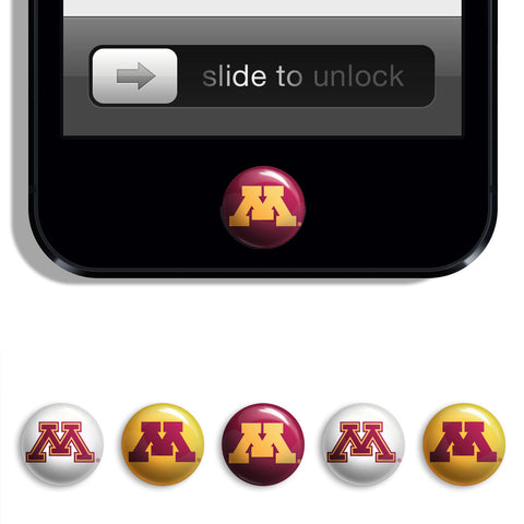 Minnesota Golden Gophers Udots iPhone iPad Buttons - Spirit Gear Central