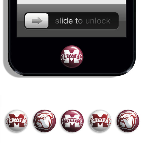 Mississippi State Bulldogs Udots iPhone iPad Buttons - Spirit Gear Central