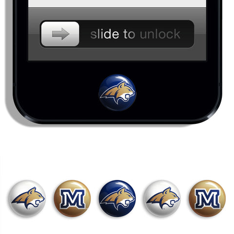 Montana State Bobcats Udots iPhone iPad Buttons - Spirit Gear Central