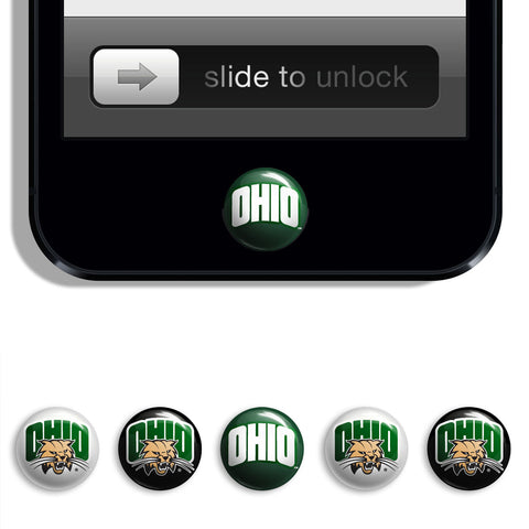 Ohio Bobcats Udots iPhone iPad Buttons - Spirit Gear Central