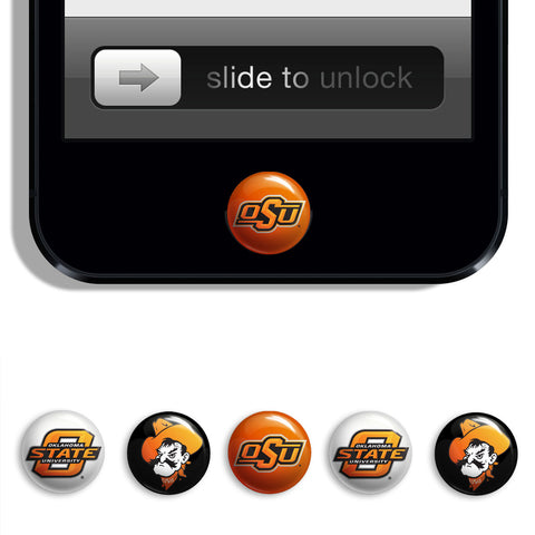 Oklahoma State Cowboys Udots iPhone iPad Buttons - Spirit Gear Central