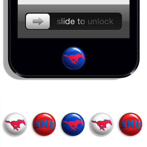 SMU Mustangs Udots iPhone iPad Buttons - Spirit Gear Central